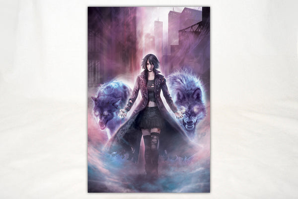 Art - The Dresden Files Molly And Alphas Print