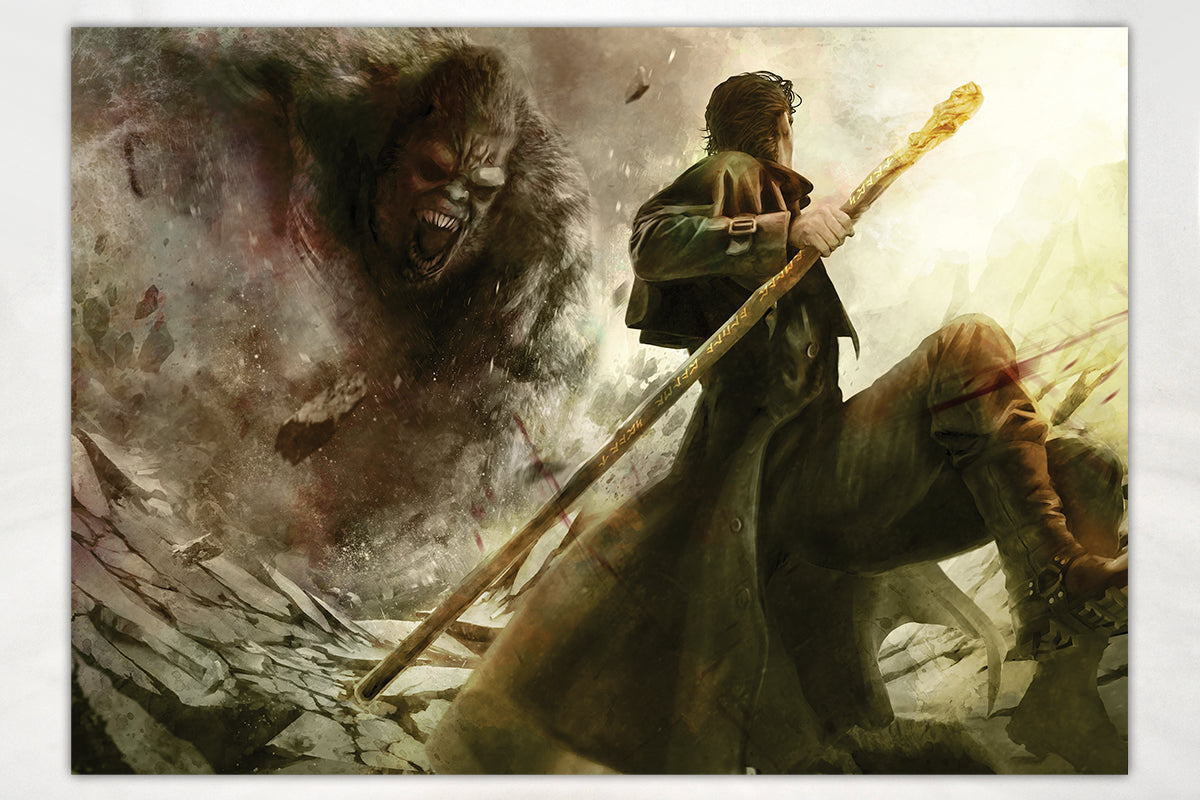 Art - The Dresden Files Octokong Print