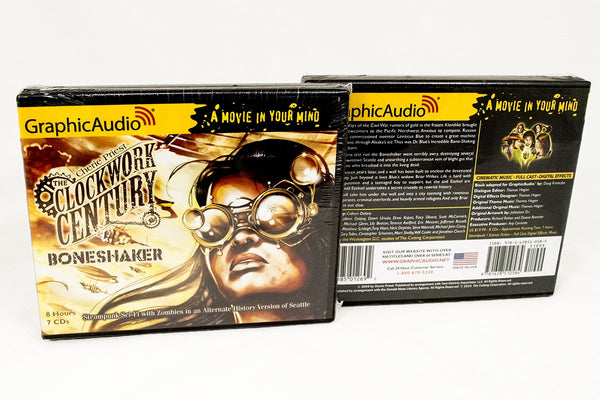 Books - Boneshaker GraphicAudio By Cherie Priest