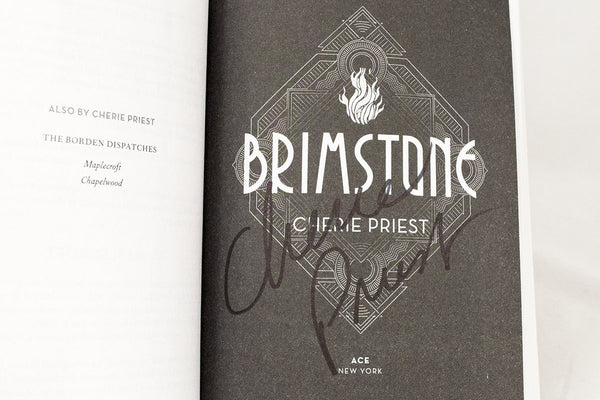 Books - Brimstone By Cherie Priest