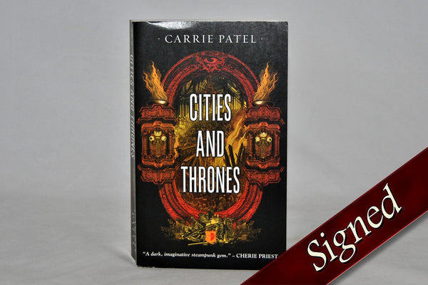 Books - Cities And Thrones By Carrie Patel