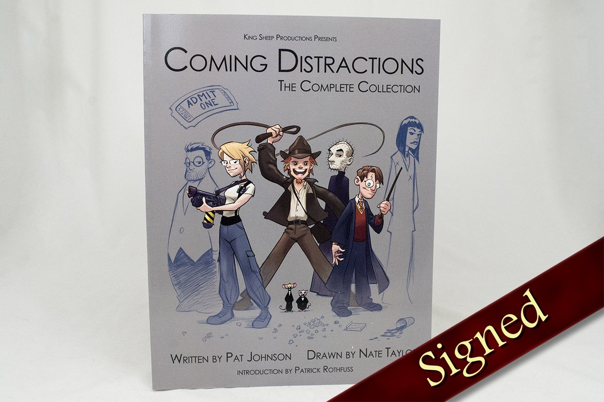 Books - Coming Distractions: Complete Collection