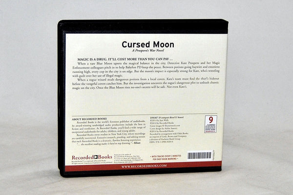Books - Cursed Moon Audiobook By Jaye Wells