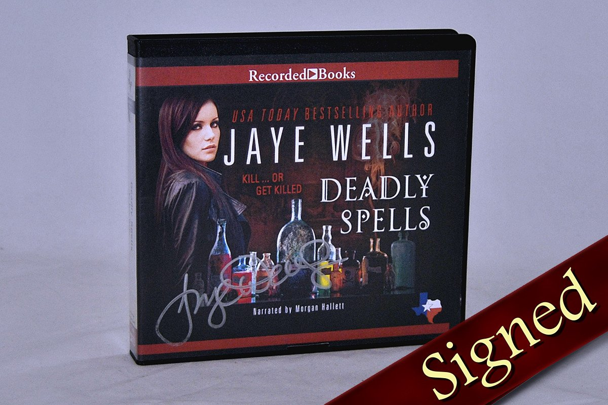 Books - Deadly Spells Audiobook By Jaye Wells