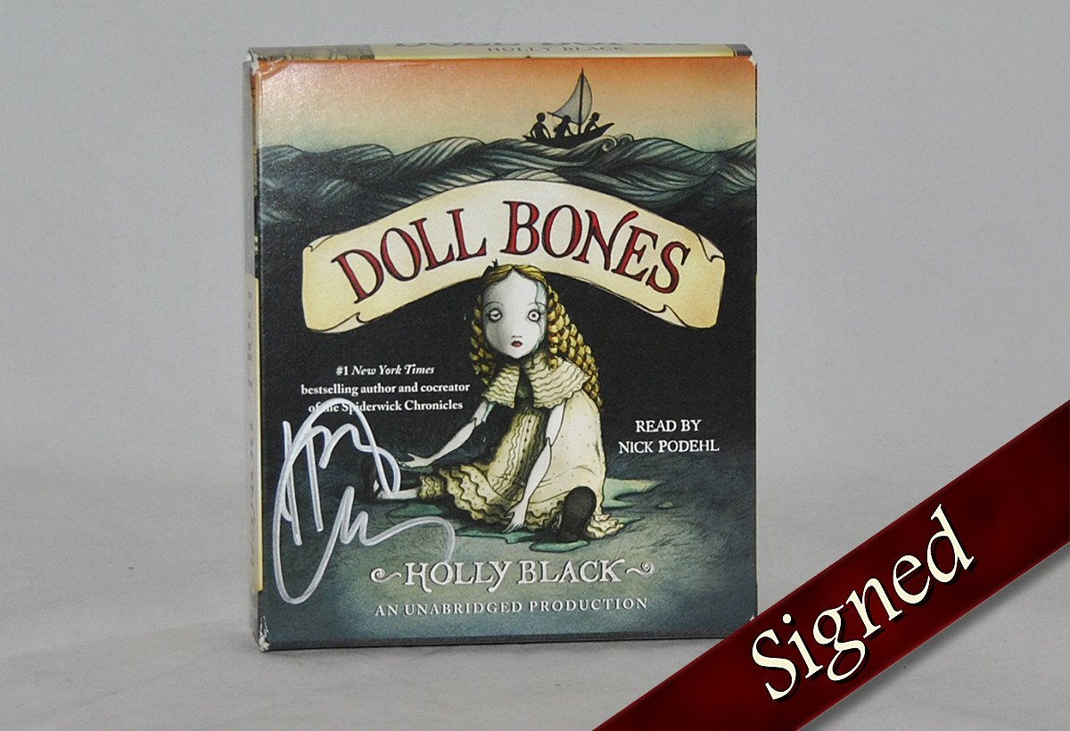 Books - Doll Bones Audiobook By Holly Black