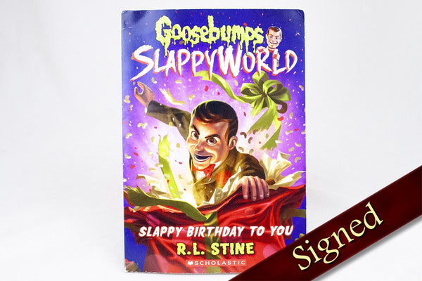 Books - Goosebumps - SlappyWorld: Slappy Birthday To You By R.L. Stine