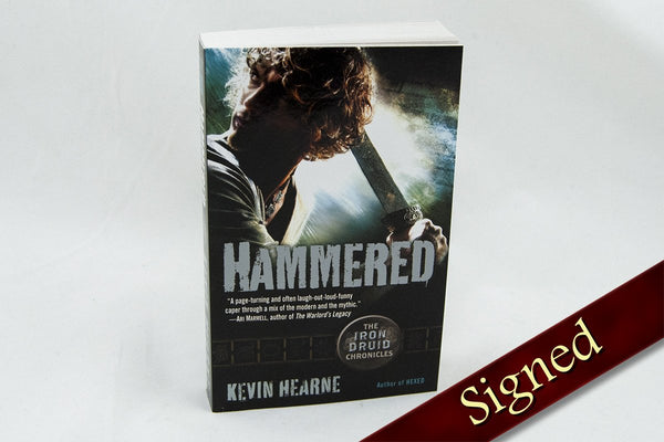 Books - Hammered - The Iron Druid Chronicles ™ Book 3