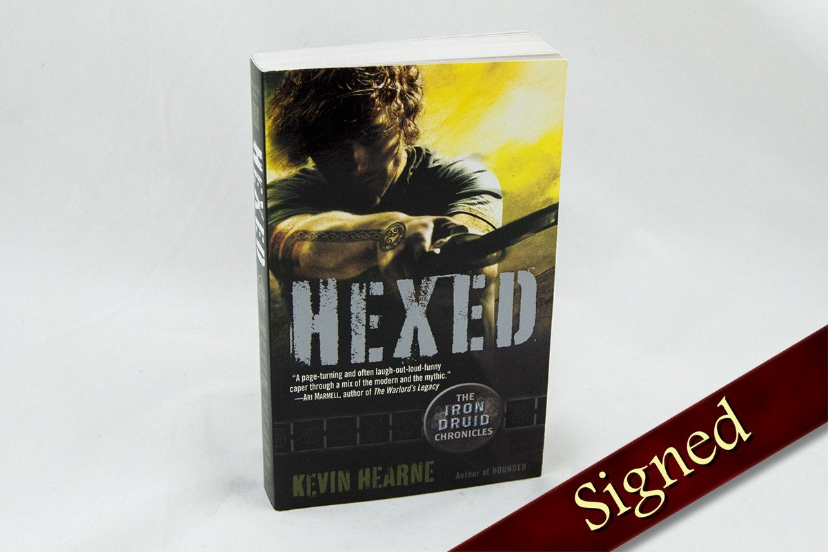 Books - Hexed - The Iron Druid Chronicles ™ Book 2