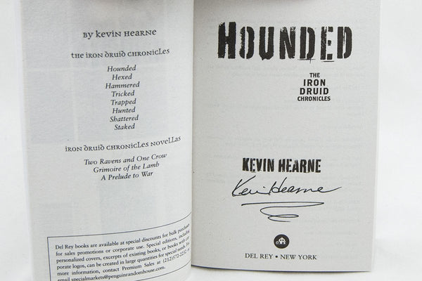 Books - Hounded - The Iron Druid Chronicles ™ Book 1