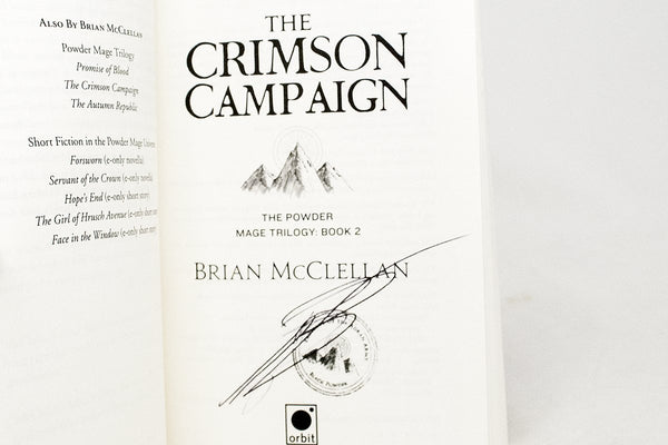 Books - Less Than Perfect Books By Brian McClellan