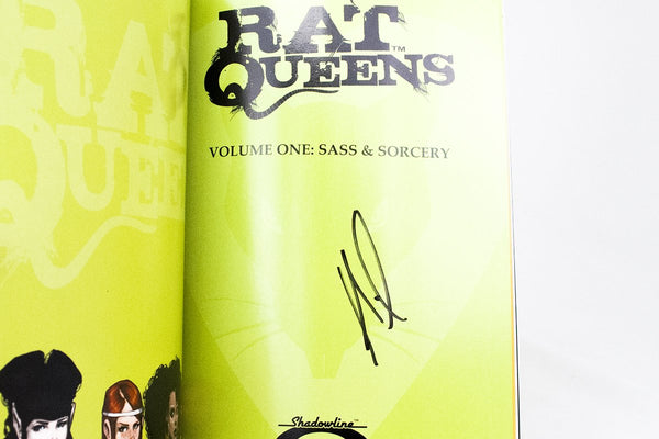 Books - Rat Queens Volume 1: Sass And Sorcery