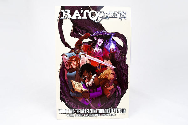 Books - Rat Queens Volume 2: The Far Reaching Tentacles Of N'Rygoth