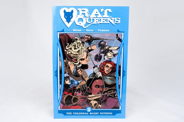 Books - Rat Queens Volume 5: The Colossal Magic Nothing