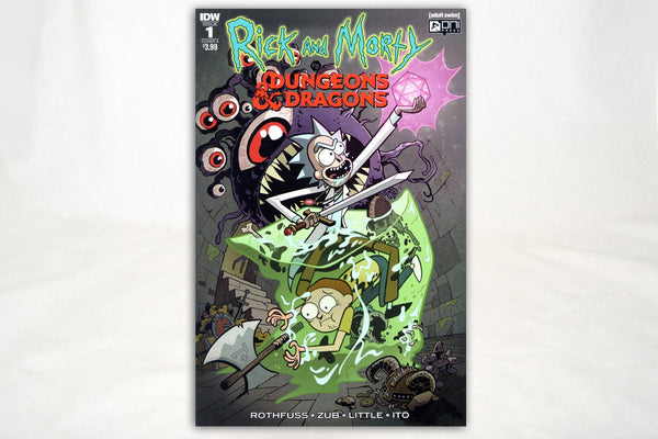Books - Rick And Morty Vs. Dungeons & Dragons: Issue #1