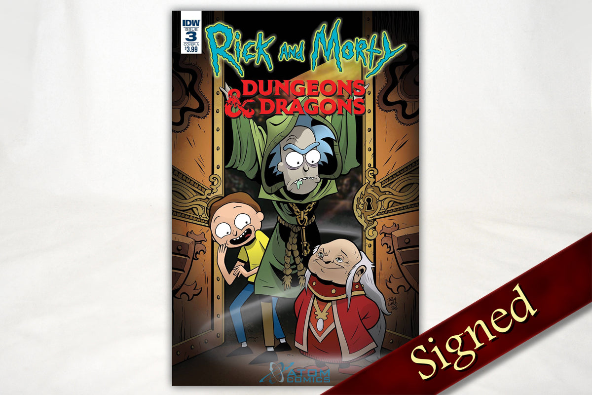 Books - Rick And Morty Vs. Dungeons & Dragons: Issue #3