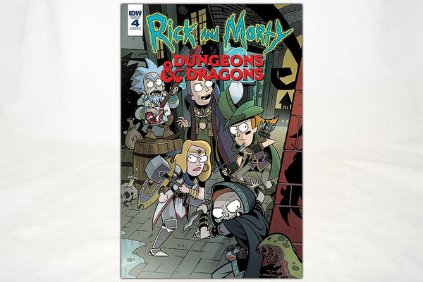 Books - Rick And Morty Vs. Dungeons & Dragons: Issue #4