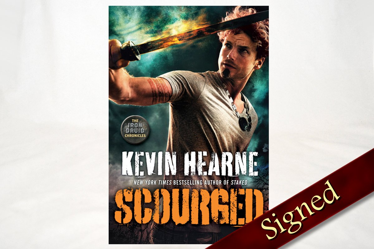 Books - Scourged - The Iron Druid Chronicles ™ Book 9