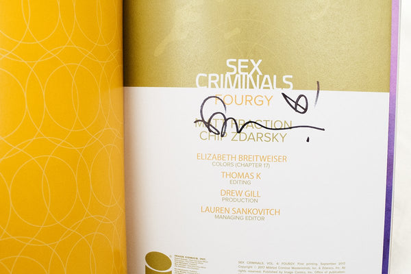 Books - Sex Criminals Volume Four: Fourgy