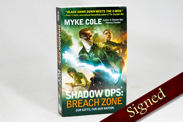 Books - Shadow Ops: Breach Zone