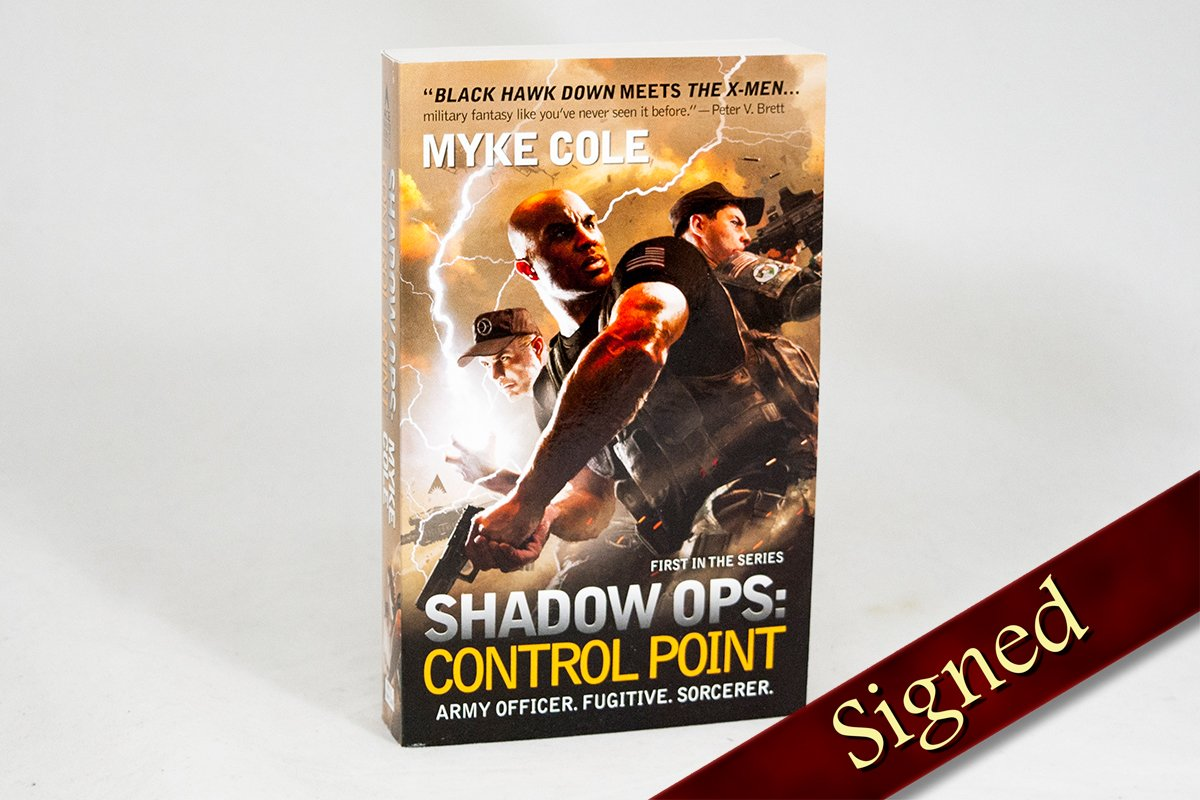 Books - Shadow Ops: Control Point