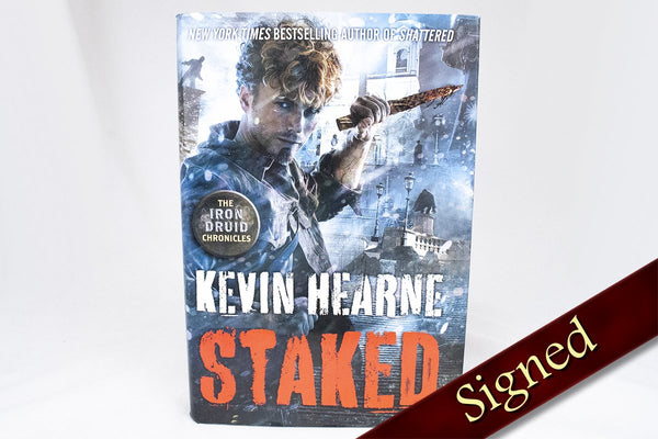 Books - Staked - The Iron Druid Chronicles ™ Book 8