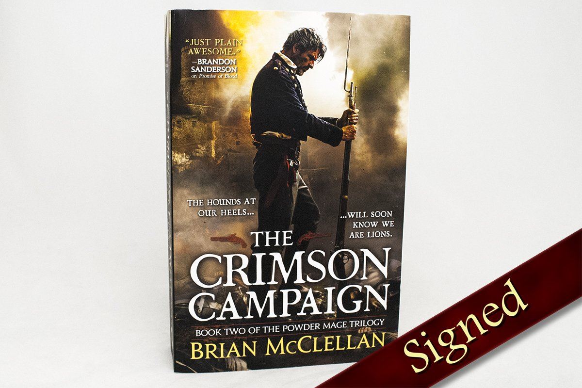 Books - The Crimson Campaign