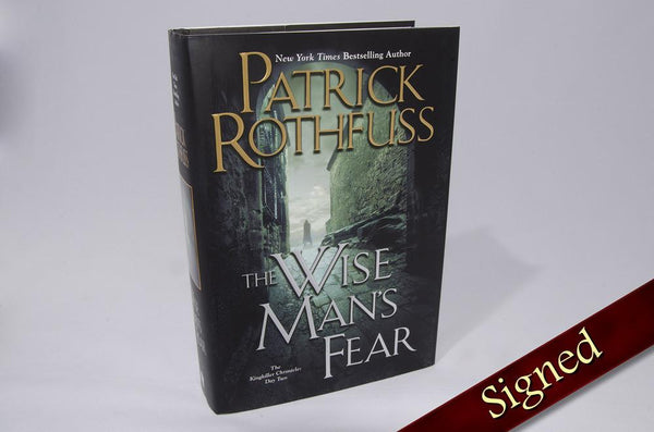 Books - The Wise Man's Fear - SIGNED - EBAY ONLY
