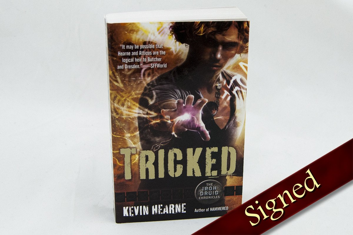 Books - Tricked - The Iron Druid Chronicles ™ Book 4
