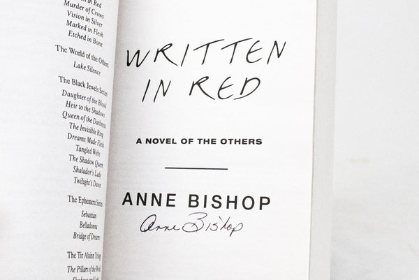 Books - Written In Red