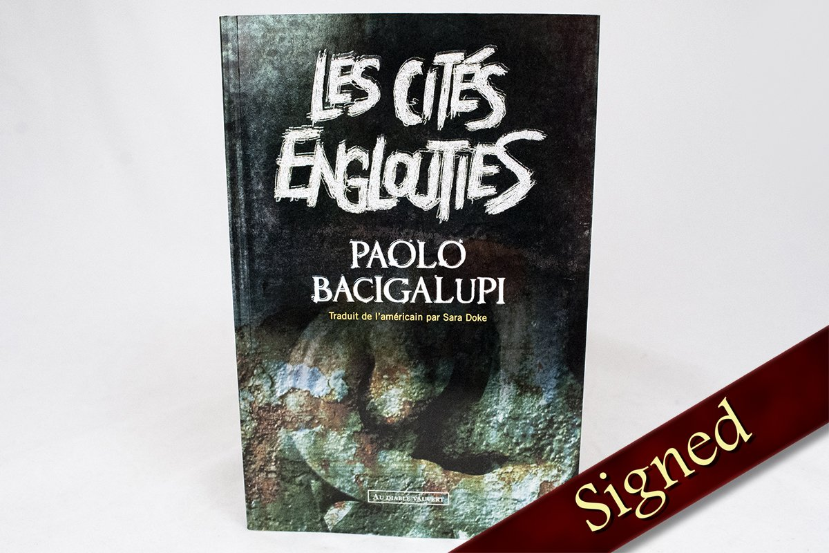 Foreign Editions - Drowned Cities  (French)