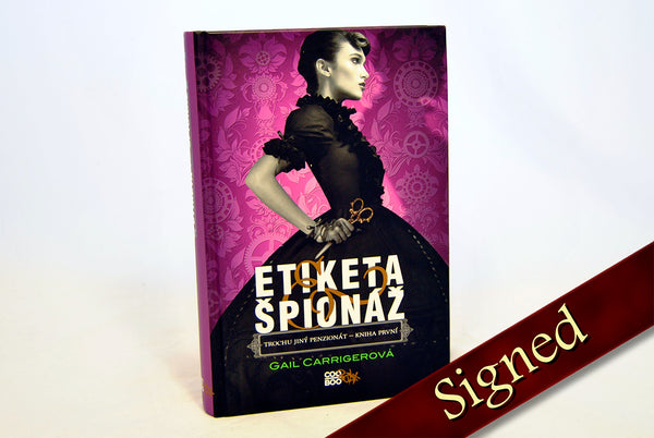 Foreign Editions - Etiquette & Espionage  (Czech)