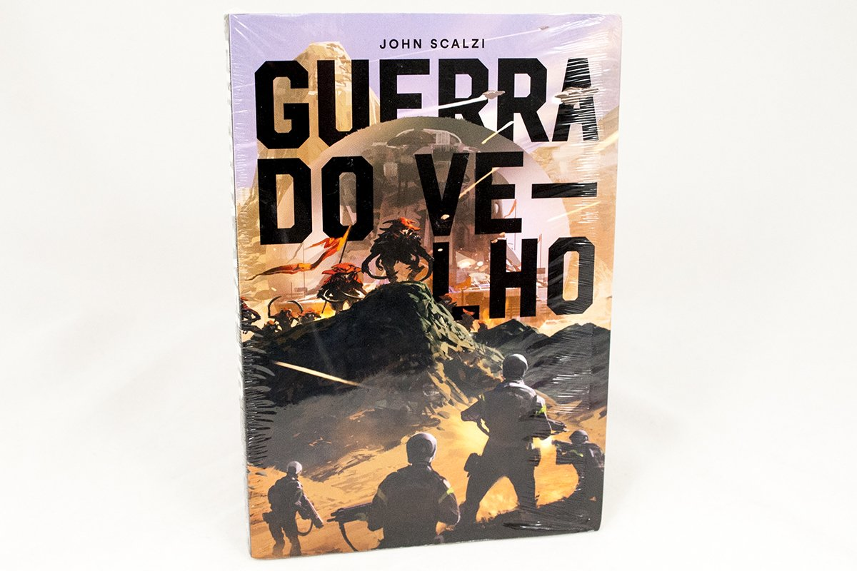 Foreign Editions - Old Man's War - Aleph  (Brazilian Portuguese)