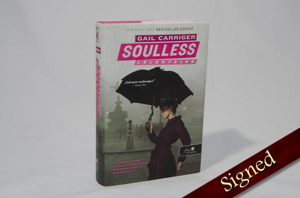 Foreign Editions - Soulless  (Hungarian)