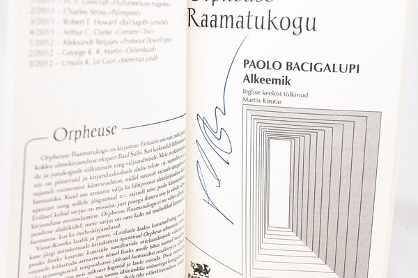 Foreign Editions - The Alchemist  (Estonian)