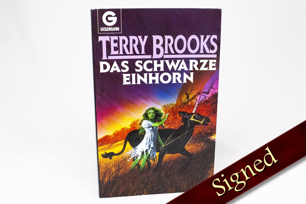Foreign Editions - The Black Unicorn  (German)