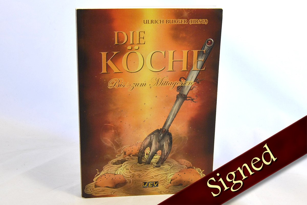 Foreign Editions - The Cooks: A Bite For Lunch Cookbook Anthology  (German)