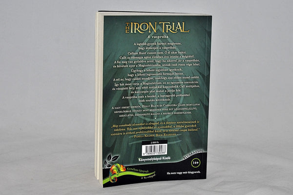 Foreign Editions - The Iron Trial  (Hungarian)