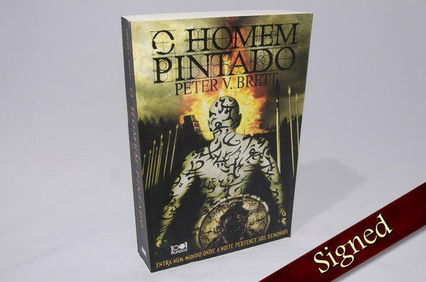 Foreign Editions - The Painted Man  (Portuguese)