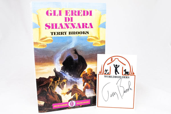 Foreign Editions - The Scions Of Shannara  (Italian)