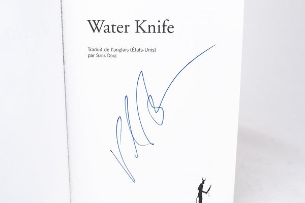 Foreign Editions - The Water Knife  (French)
