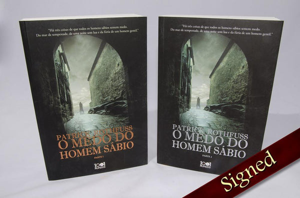 Foreign Editions - The Wise Man's Fear  (Portuguese)