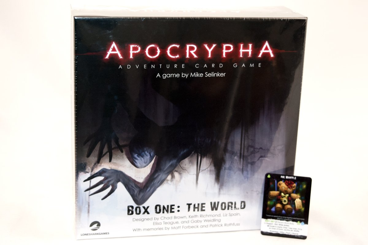 Games - Apocrypha Adventure Card Game