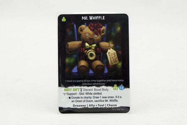Games - Apocrypha Game Promo Card: Mr. Whiffle