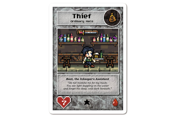Games - Limited Edition Bast Hero Card