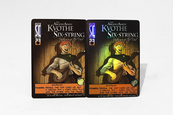 Games - Limited Edition Kvothe Six-String Cards