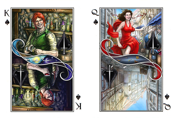 Games - Name Of The Wind Playing Cards