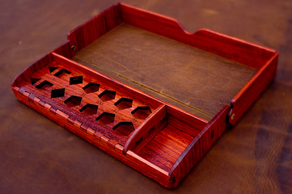 Games - Premium Large Collapsible Dice Box And Tray
