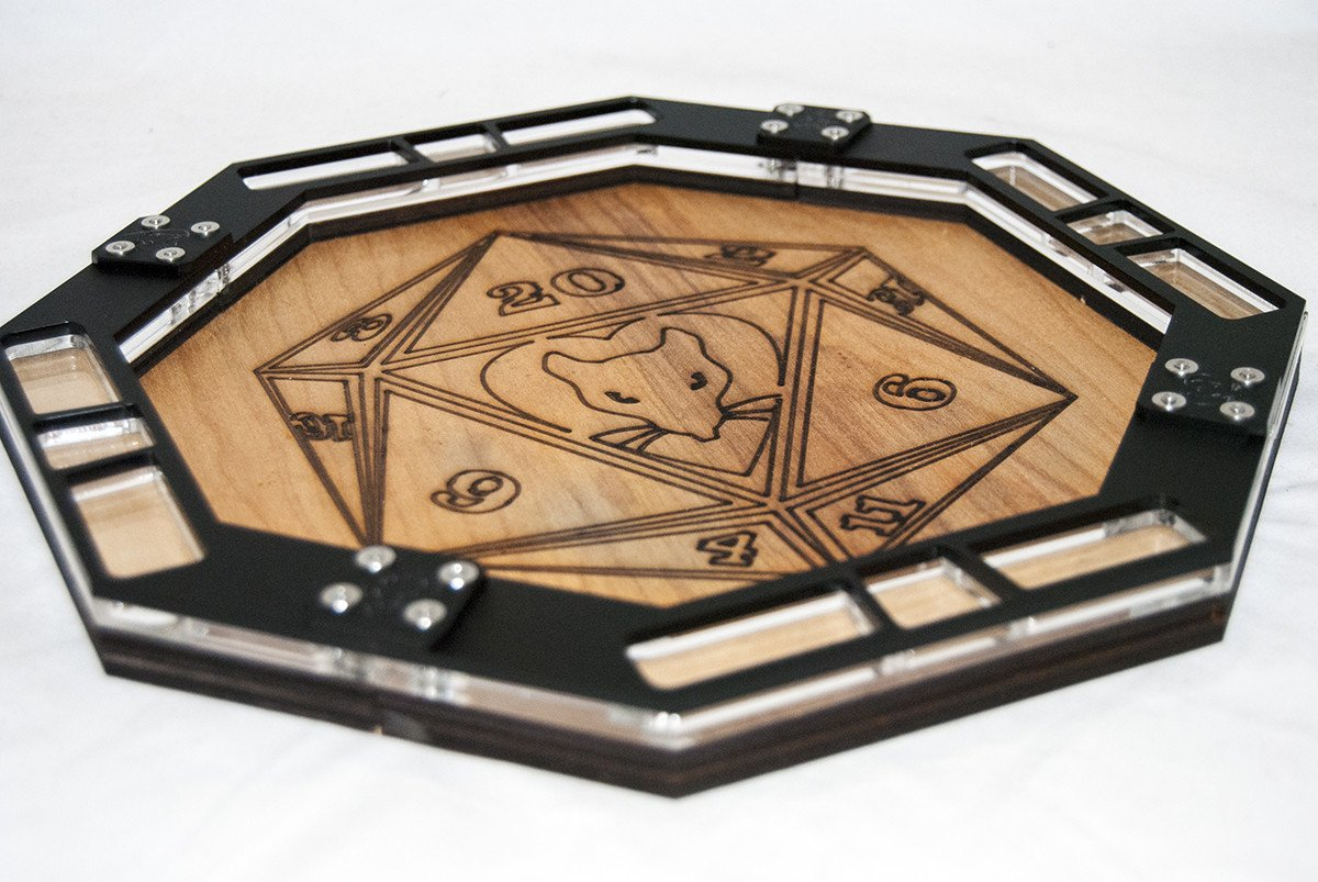 Games - Rat Queens Dice Tray