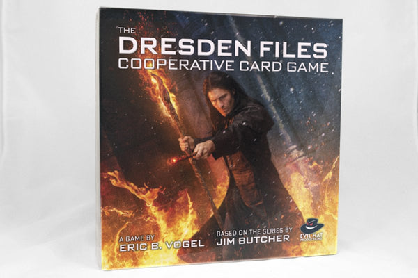 Games - The Dresden Files Cooperative Card Game