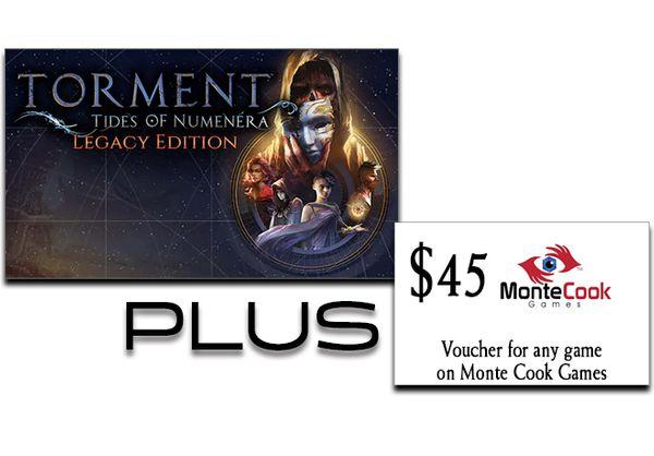Games - Torment: Tides Of Numenara/Monte Cook Games Bundle